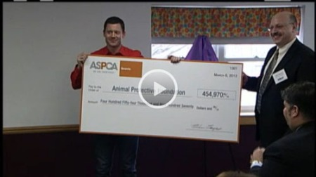 ASPCA grant announcement video